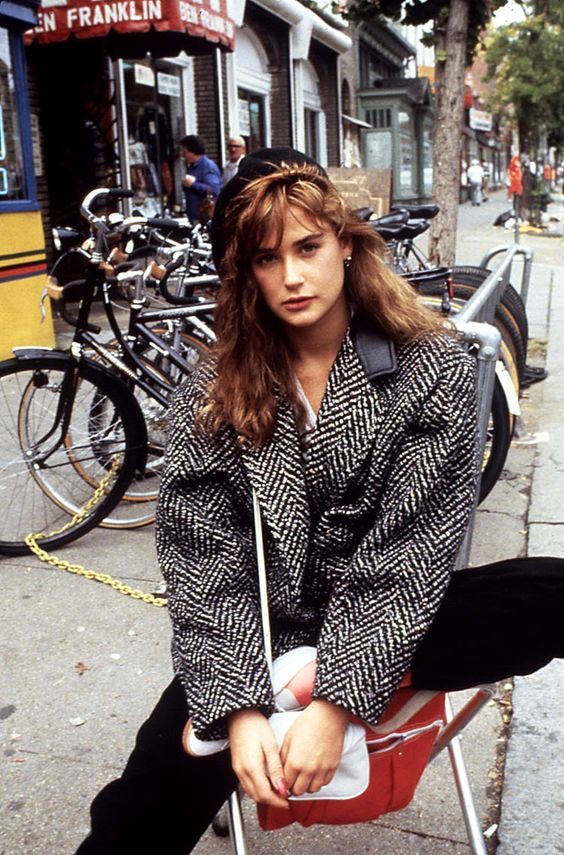 The Greatest Moments in 80s Fashion Street Style , Lone Wolf
