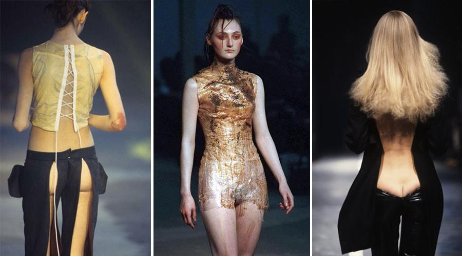 "Alexander McQueen, ""Nihilism"" Spring 1994"