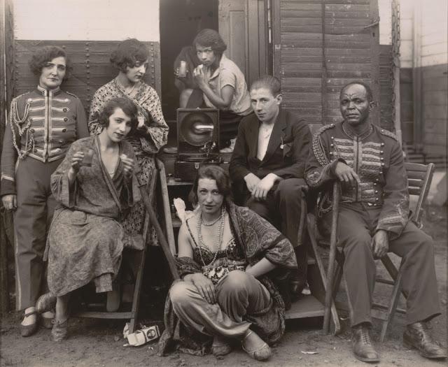 August Sander - Circus People