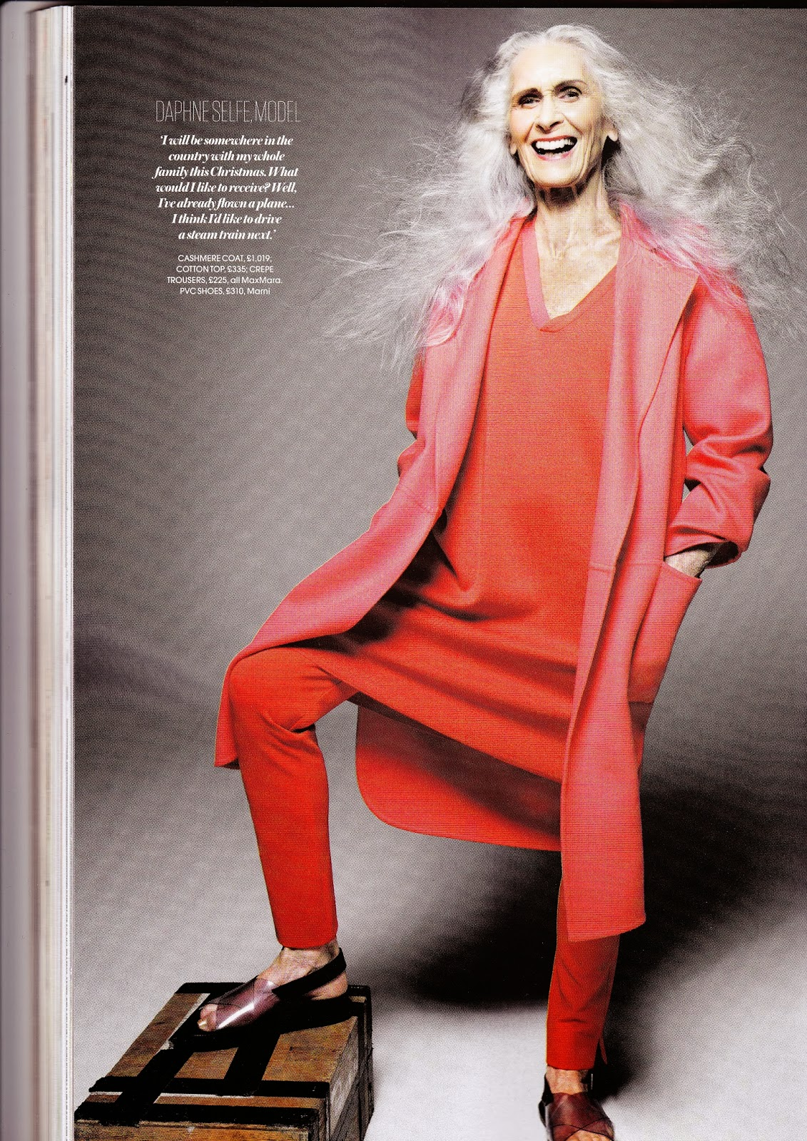 Daphne Selfe, Red magazine