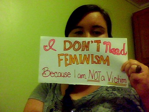 women against feminism antifeminist
