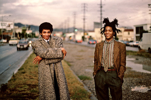 Jean-Michel Basquiat and Rammellzee 1982