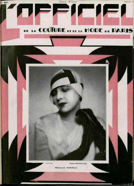 L'Officiel 1920s