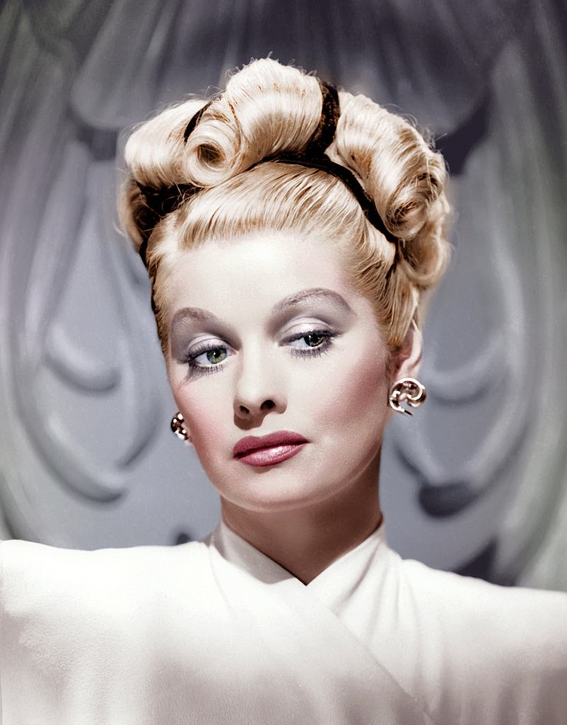 I Love Lucy Lucille Ball Hair The Ultimate Resting Bitch