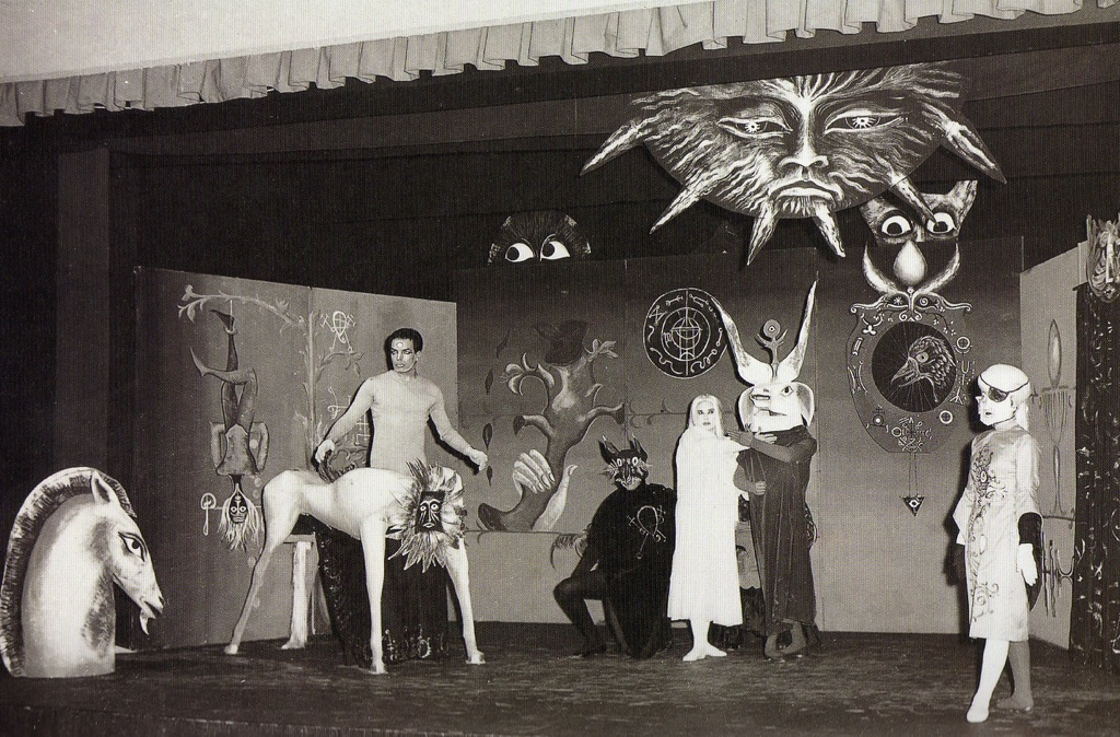 Leonora Carrington's set design