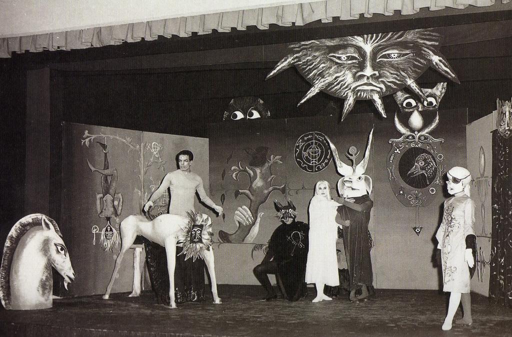 Leonora Carrington's set design