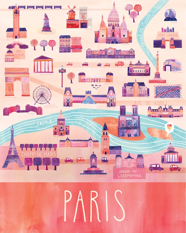 Paris by Marisa Seguin