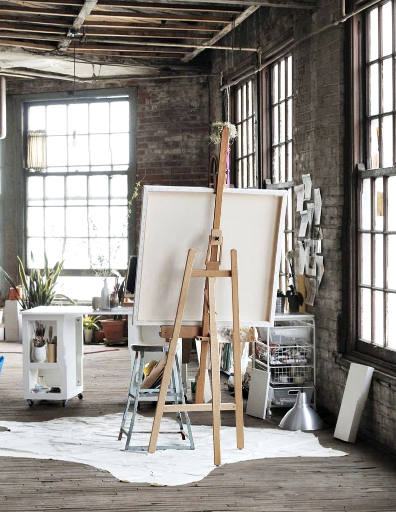 The Most Beautiful Artist's Studios on the Planet