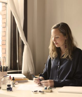 Interview with Calligrapher Bryn Chernoff on Building a Career on the Art of Letters
