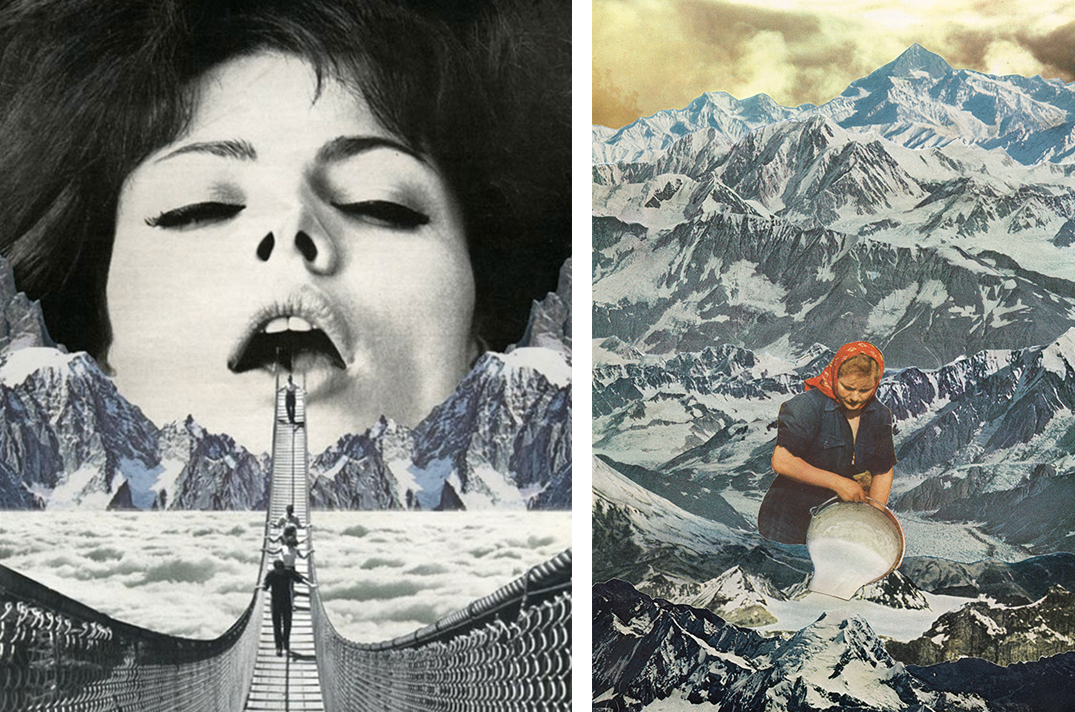 Mind Blowing Contemporary Surrealist Collage Artists - Lone Wolf ...