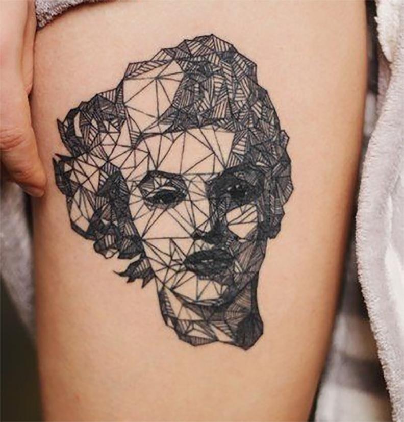 geometric-tattoo