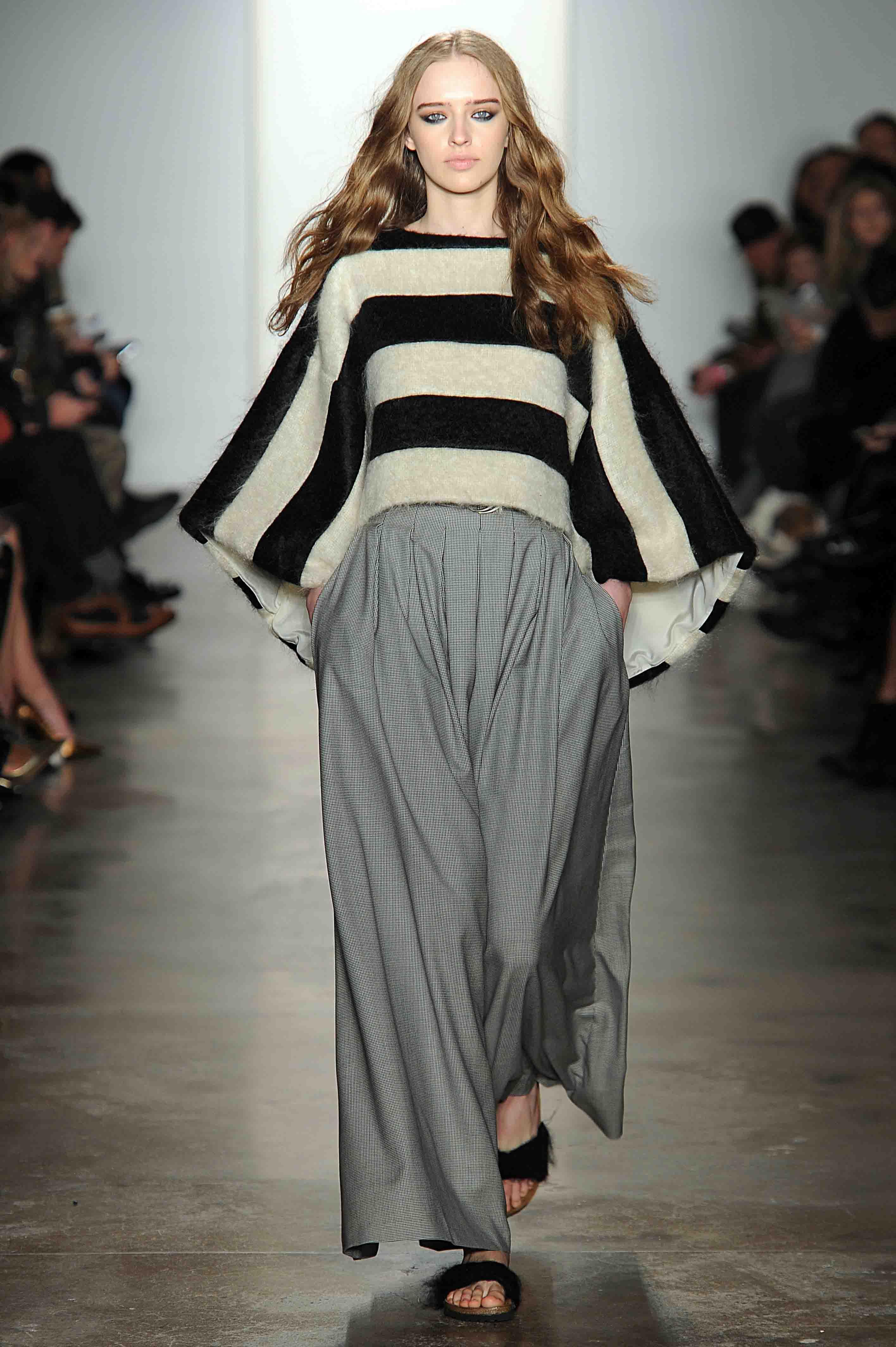 Houghton Womenswear Fall Winter 2014 New York Fashion Week February 2014