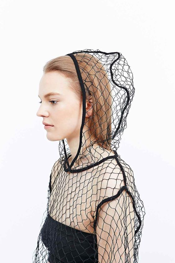 You can find a subtle homage to nihilism in the sheer pointlessness of this (admittedly cool) mesh hoodie by MMG.