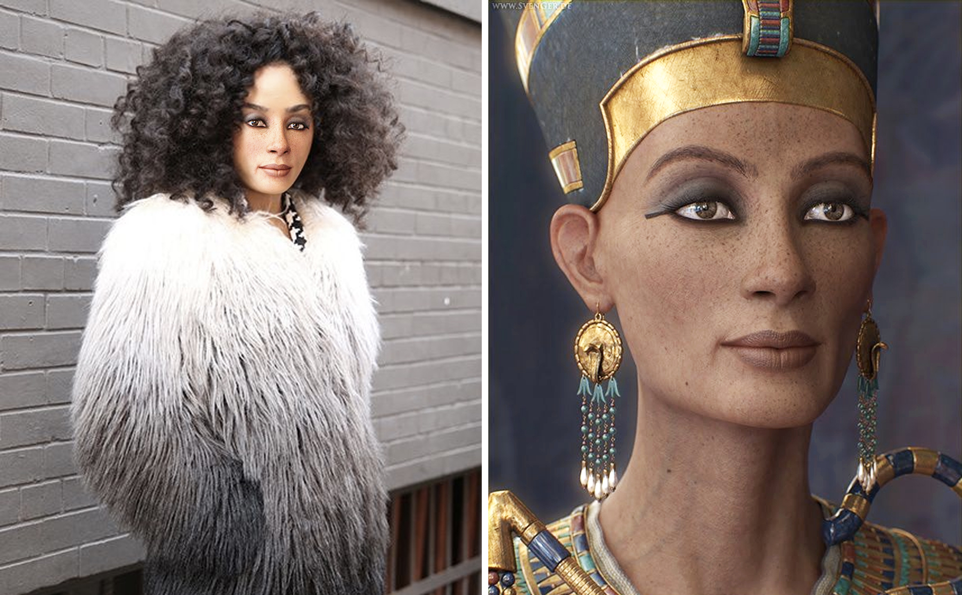 what queen nefertiti would look like today
