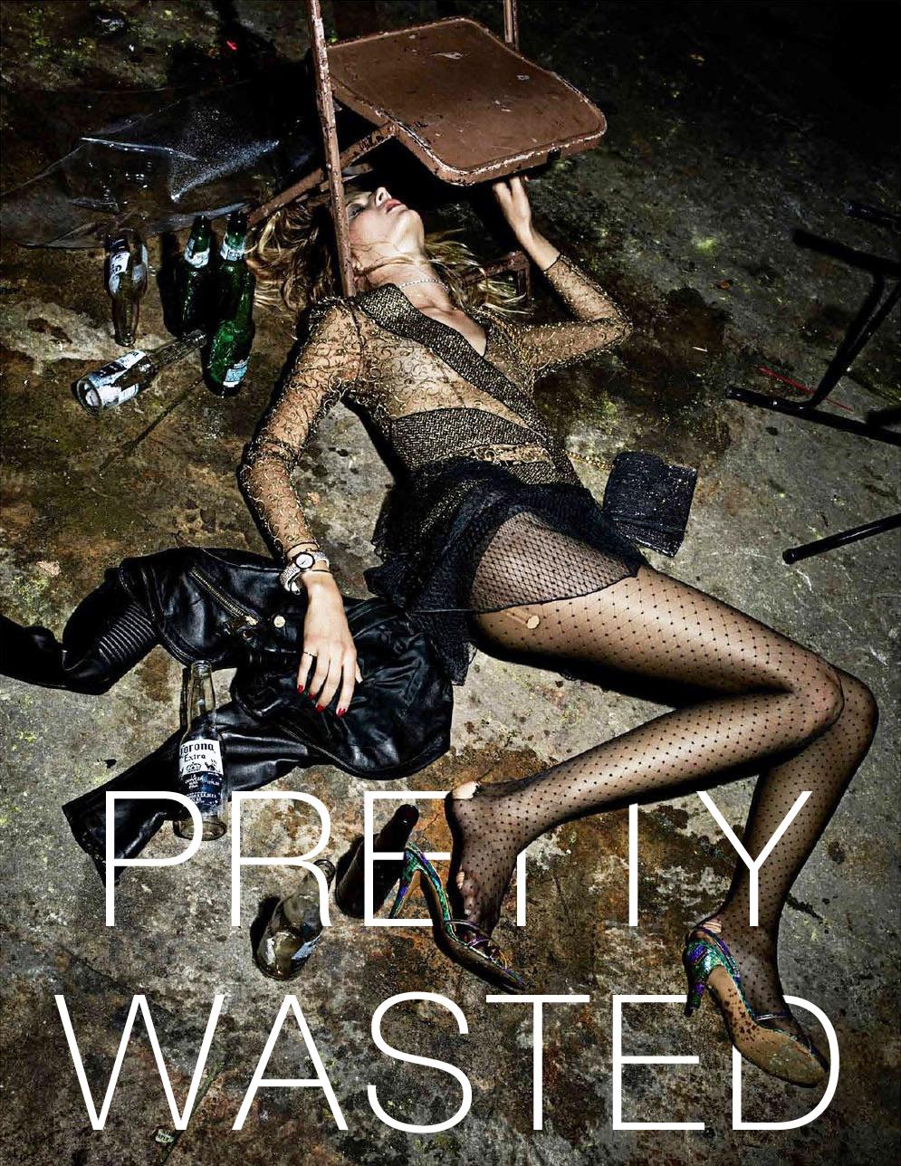Interview Magazine's 'Pretty Wasted' Editorial is Pretty Disturbing