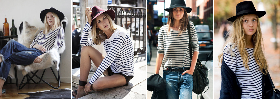 5195c1550c4 What better trend to start off with than the striped shirt which